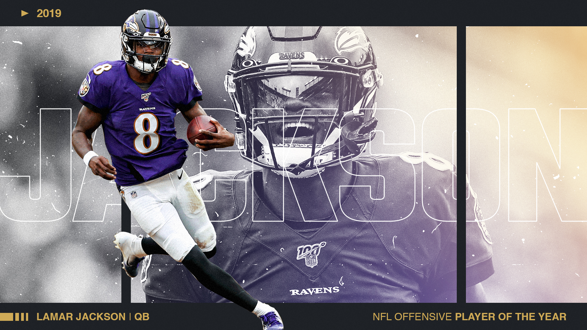 Lamar Jackson dominates voting for Sporting News NFL Offensive Player of the Year in 2019