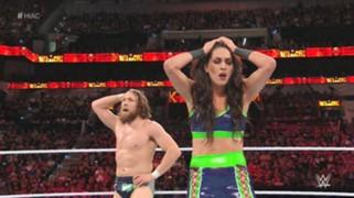 WWE PPV ヘル・イン・ア・セル ブライアン ミズ 夫婦対決
