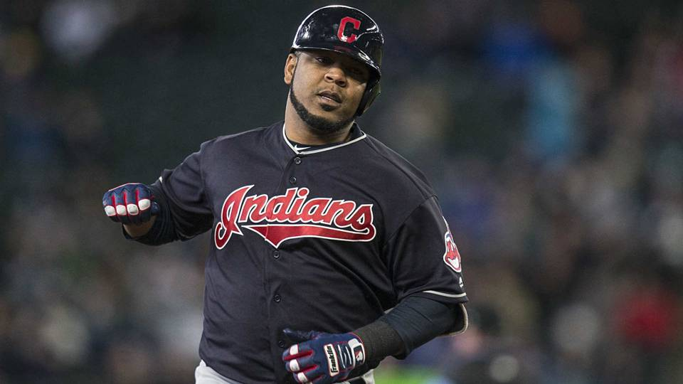 Edwin Encarnacion legs out inside-the-park homer after ball takes odd carom