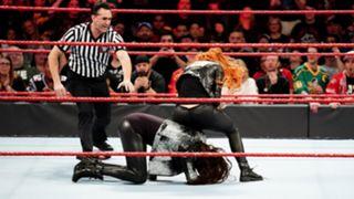 WWE, ロウ, #1341, 結果