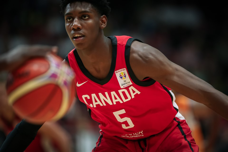 Barrett, Murray, Olynyk and Thompson headline Canada's preliminary squad for World Cup