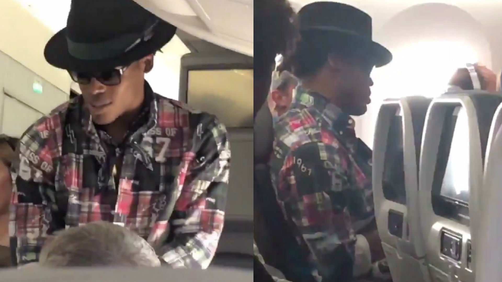 Cam Newton offers man $1,500 to change airplane seats, man says no