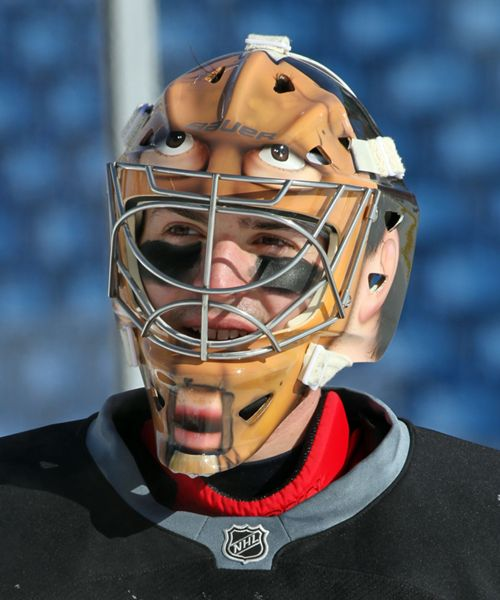 Hockey Time Machine Stories Behind The Scariest Goalie Masks In Nhl