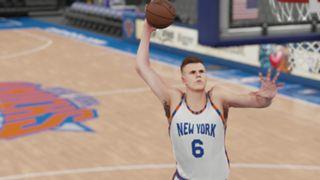 NBA 2K16 Kristaps Porzingis