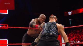 WWE ロウ #1308 ローマン・レインズ ボビー・ラシュリー