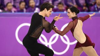 Tessa Virtue and Scott Moir of Canada