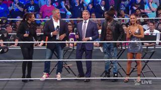 WWE スマックダウン #1000 マクマホンファミリー