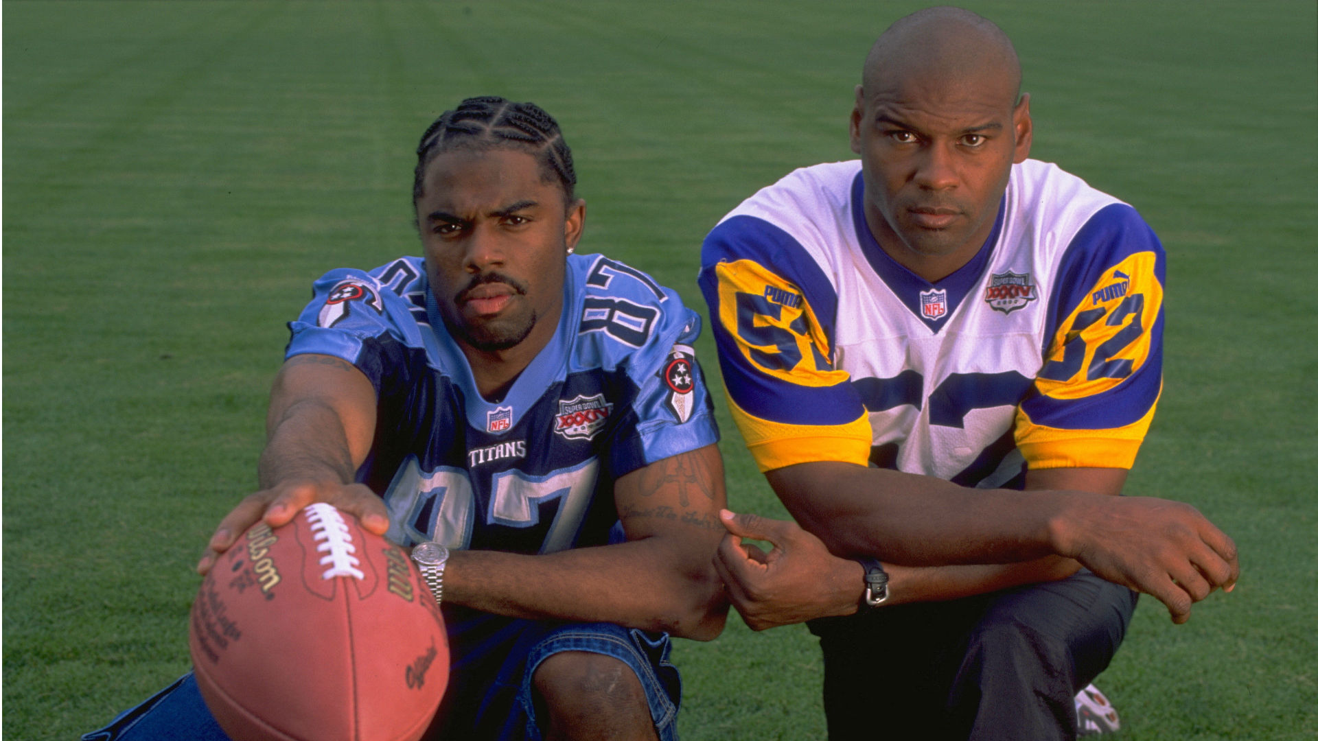 Retroceso de SN: Kevin Dyson, Mike Jones se reúnen nuevamente para discutir 'The Tackle' en el Super Bowl Titans-Rams 2