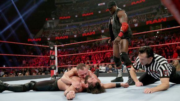 WWE, ロウ, #1337, ロリンズ轟沈