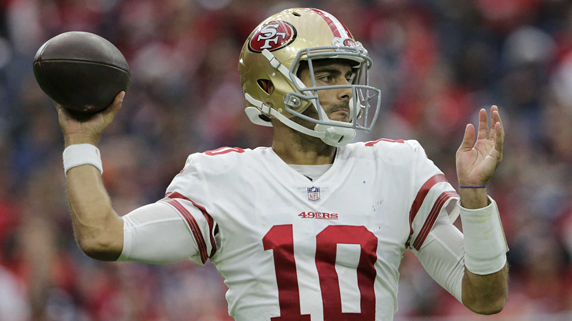 Jimmy Garoppolo wastes no time showing 49ers how great he will be
