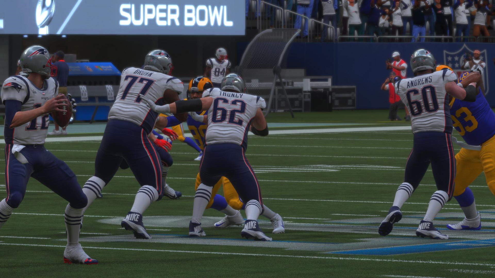 Madden NFL 19 Super Bowl LII Tom Brady