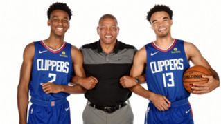 Shai Gilgeous-Alexander Jerome Robinson LA Clippers