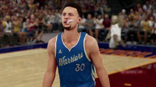 NBA 2K16 Stephen Curry Christmas