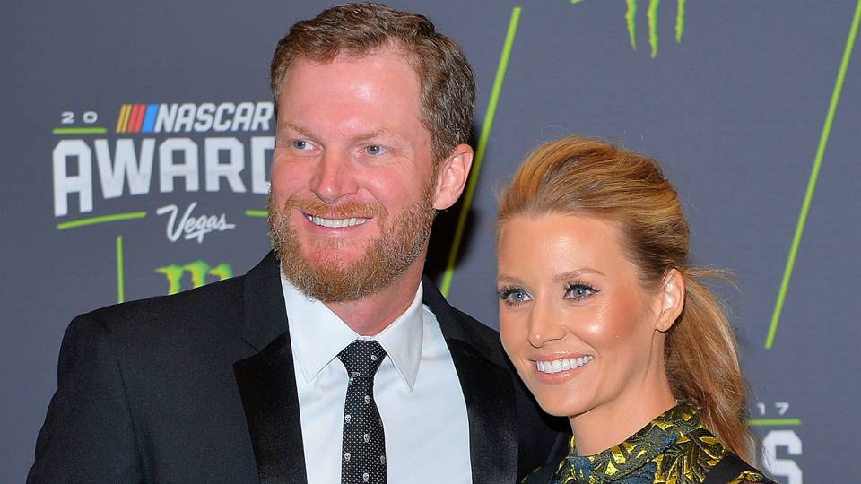 Dale Jr. and Amy Earnhardt share first photos of daughter Isla Rose