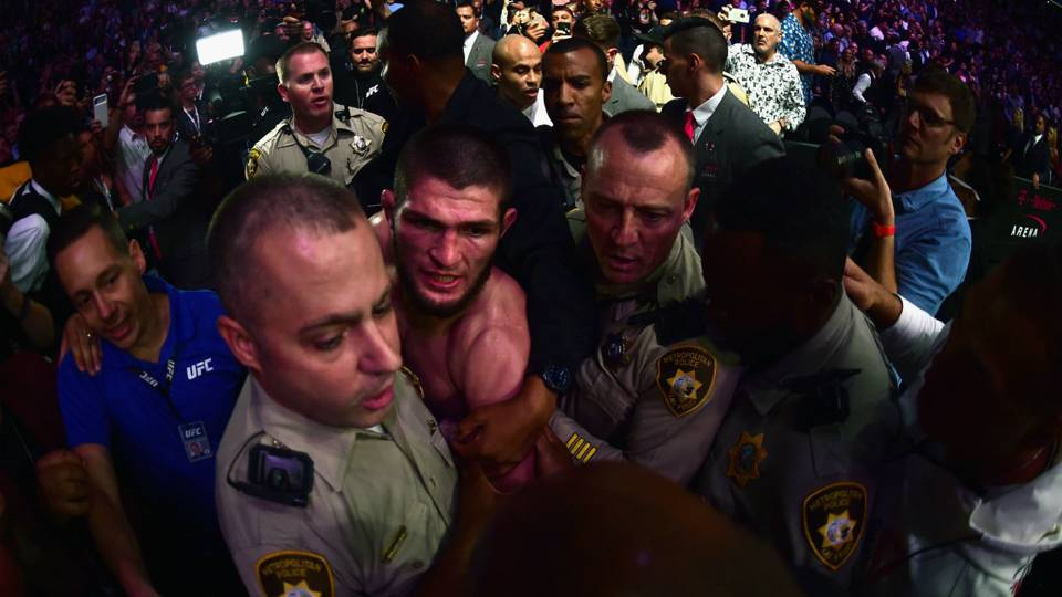 UFC 229: Khabib Nurmagomedov ruined the biggest night of his career — or did he?
