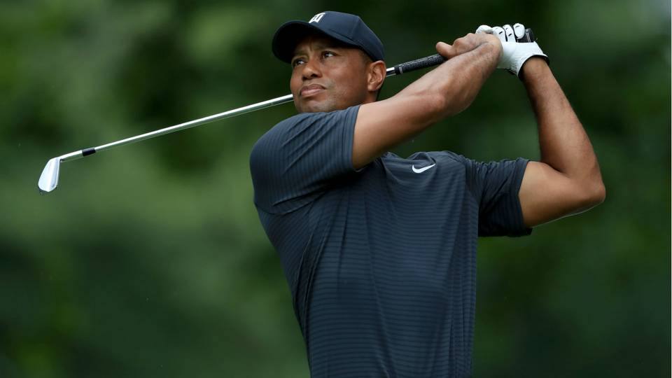Tiger Woods' score, Round 1 highlights from WGC-Bridgestone Invitational