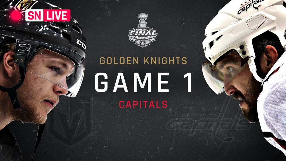 Stanley Cup Final 2018: Golden Knights vs. Capitals live rating, updates from Game 1