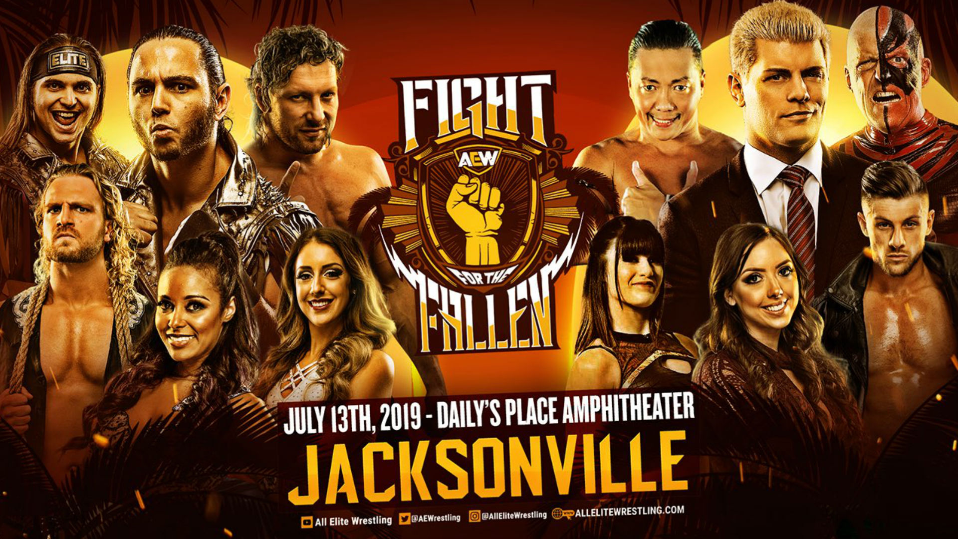 AEW Fight for the Fallen results: The Young Bucks beat The Rhodes Brothers; Kenny Omega and Cima shine