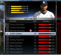 MLB 15: The Show - Top Rated Left Fielders