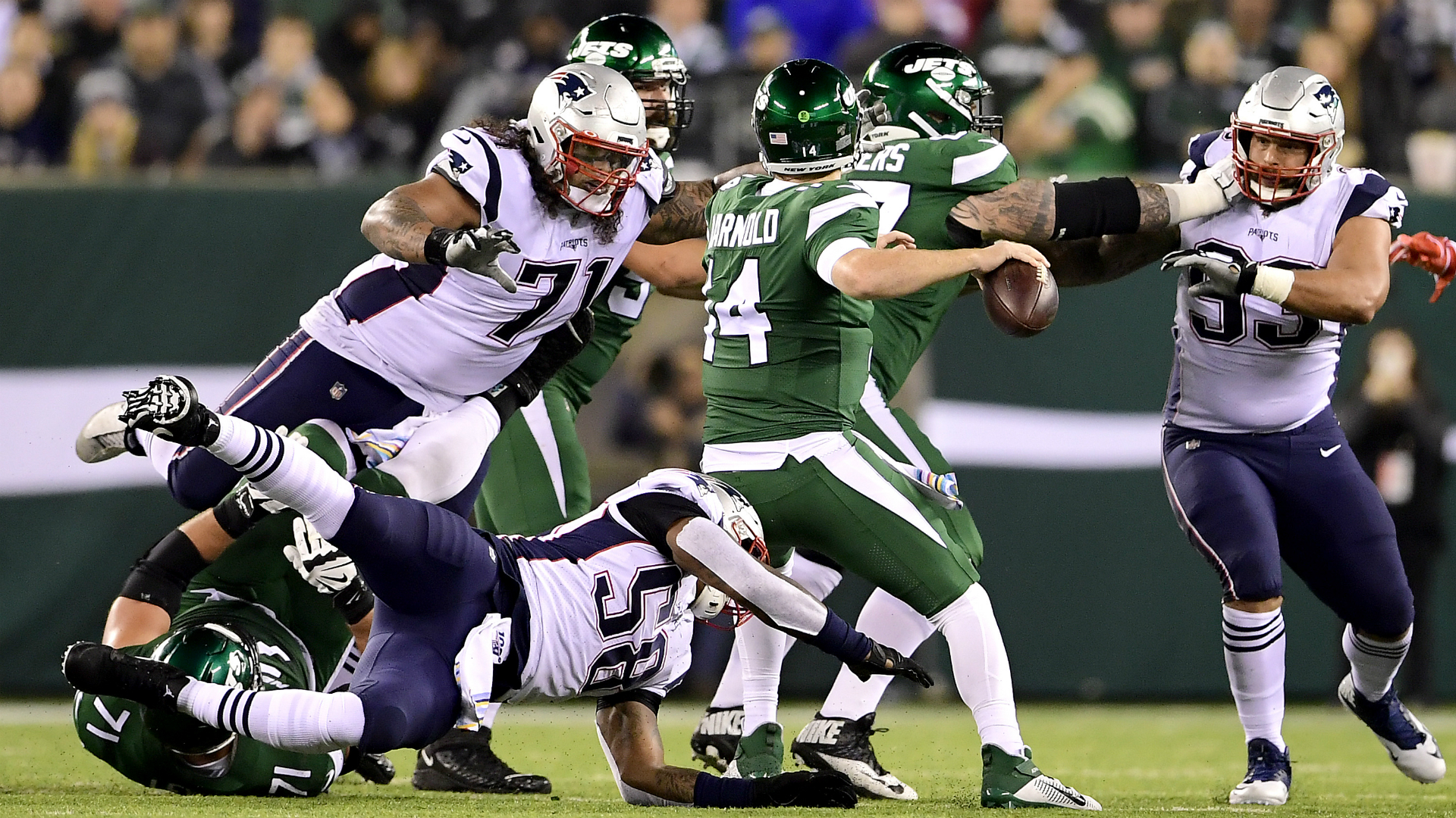 Patriots vs. Jets final score: New England defense spooks Sam Darnold in shutout win