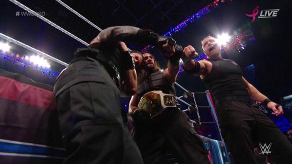 WWEスーパー・ショーダウン シールド ストローマン連合軍