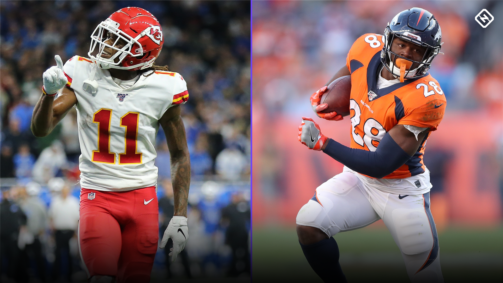 Chiefs vs. Broncos: Who to start/sit in fantasy for 'Thursday Night Football'