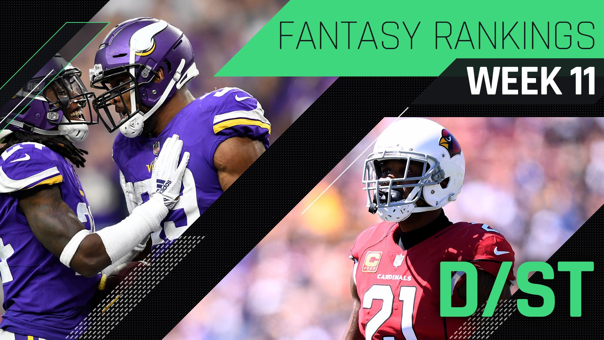 56d133b5 Week 11 Fantasy Rankings: Defense | Sporting News