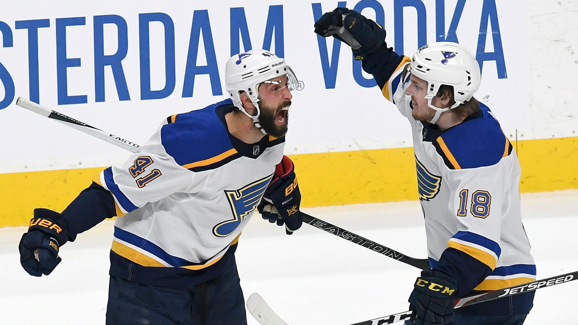 NHL playoffs 2019: Beau Bennett, Robert Bortuzzo peek into future, call Blues defenseman's game-winner