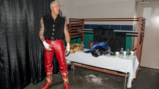 Dustin Rhodes prepares to give his father, late WWE Hall of Famer Dusty Rhodes, a beautiful Starrcade tribute.