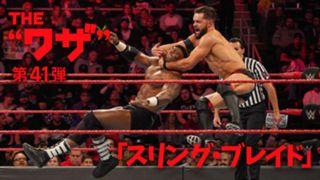 WWE, ワザ紹介, フィン・ベイラー, スリング・ブレイド