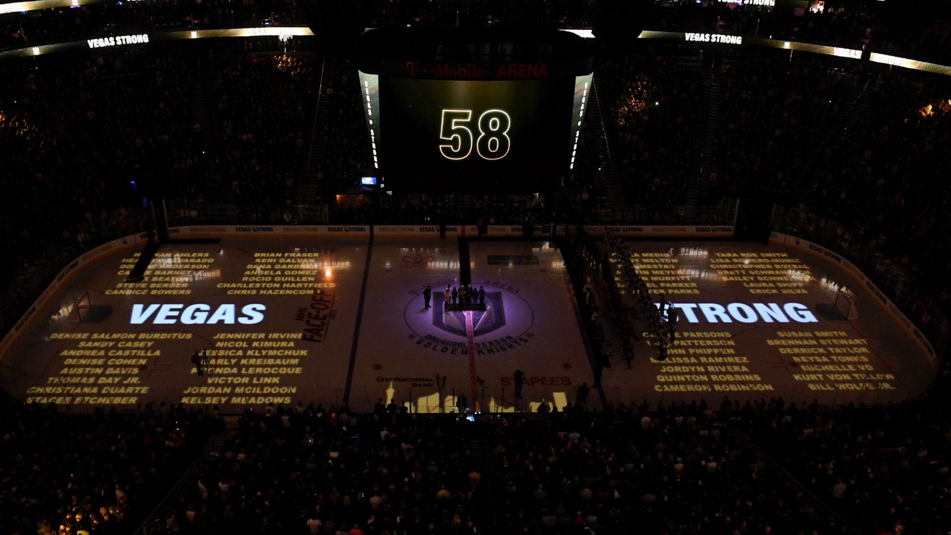 Golden Knights come home to help Las Vegas 'grieve, heal and