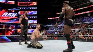 WWE バックラッシュ ストローマン&ラシュリー vs. オーエンズ&ゼイン戦