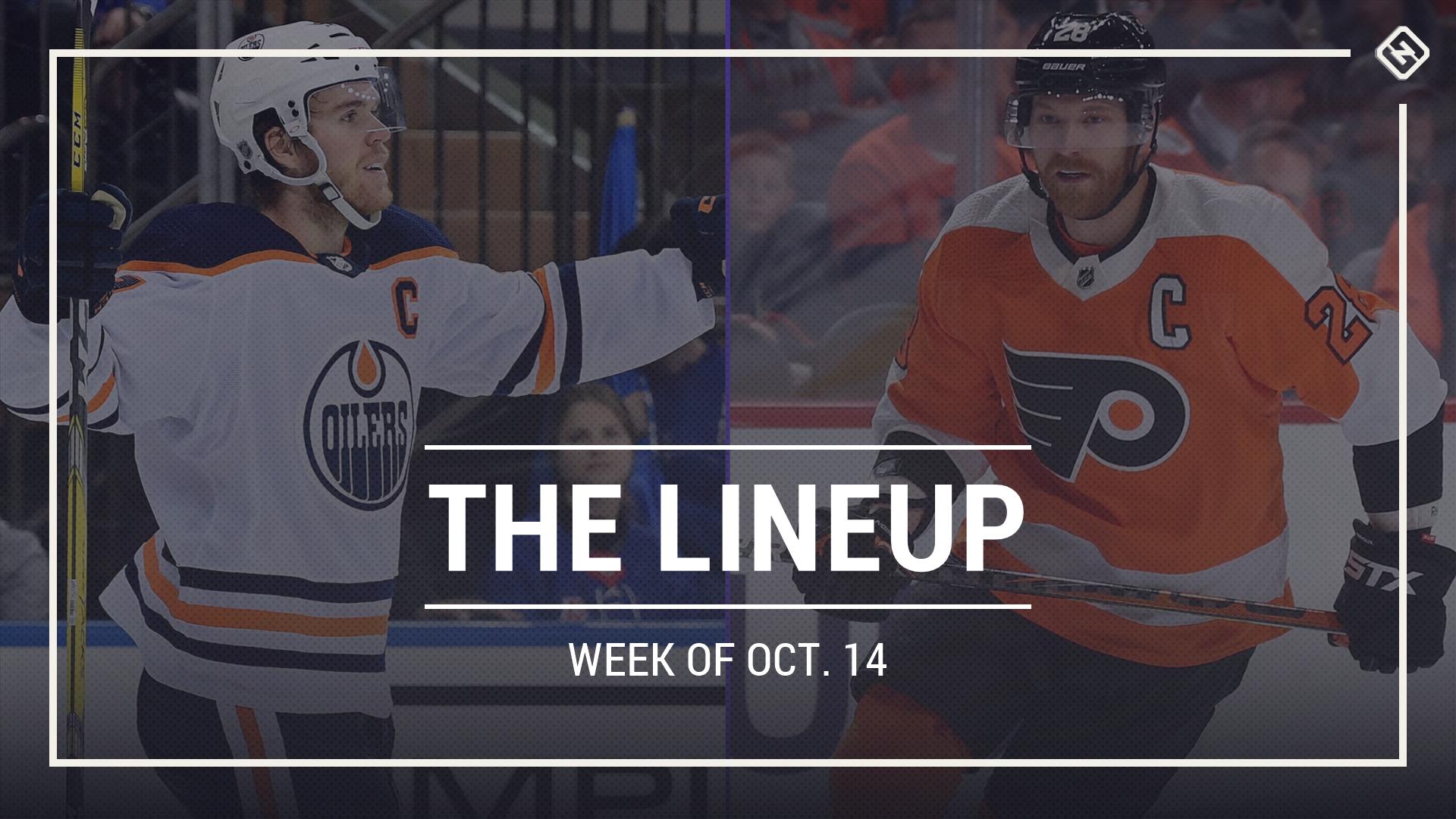 The Lineup: Edmonton Oilers test top-notch start against Philadelphia Flyers in week of Oct. 14