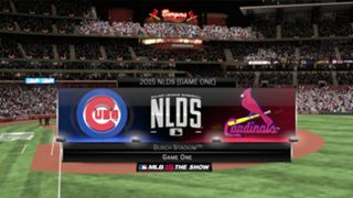 MLB 15: The Show NLDS Cubs vs Cardinals