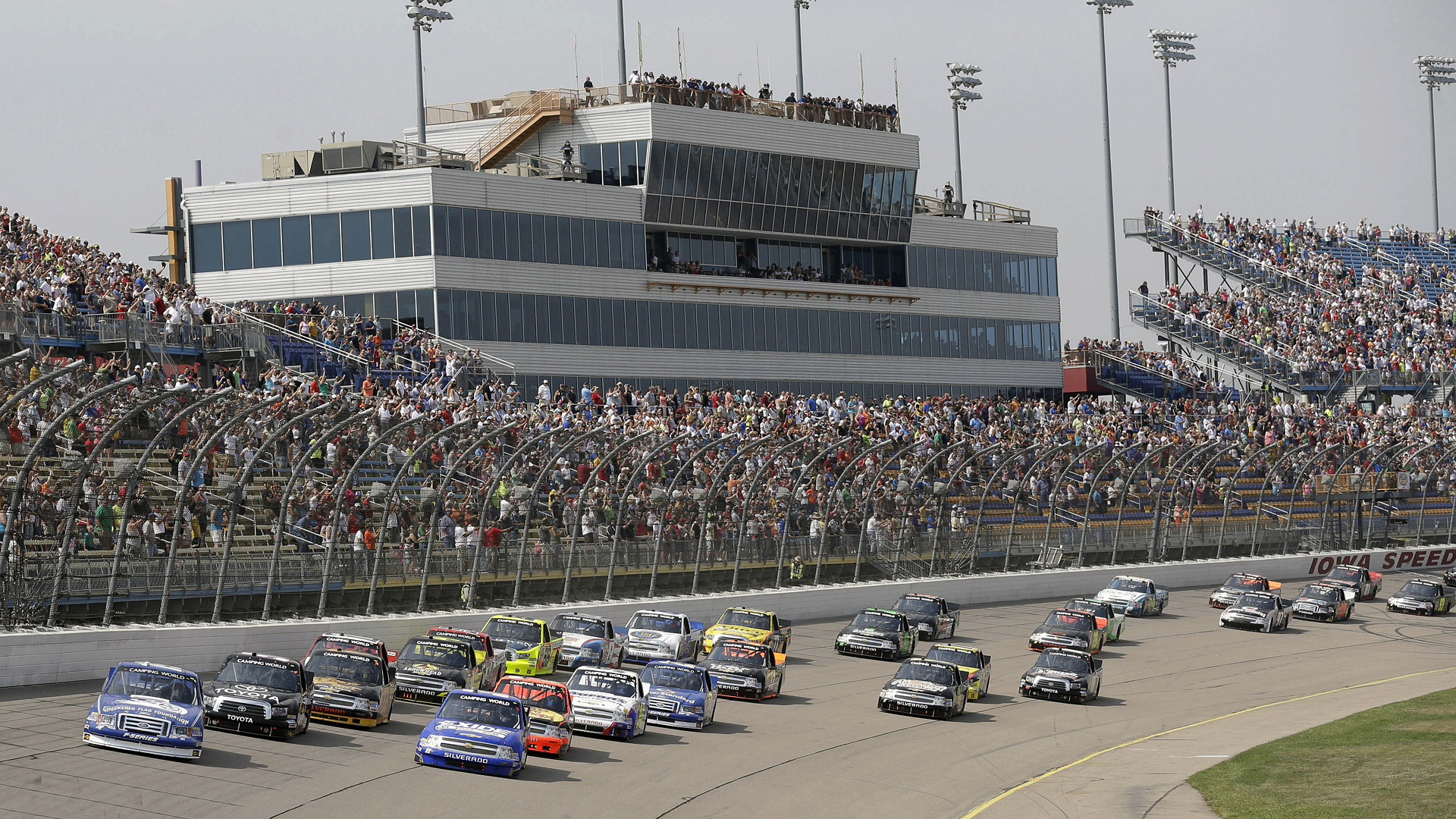 NASCAR buys Iowa Speedway, doesn't commit to Cup race   Sporting News