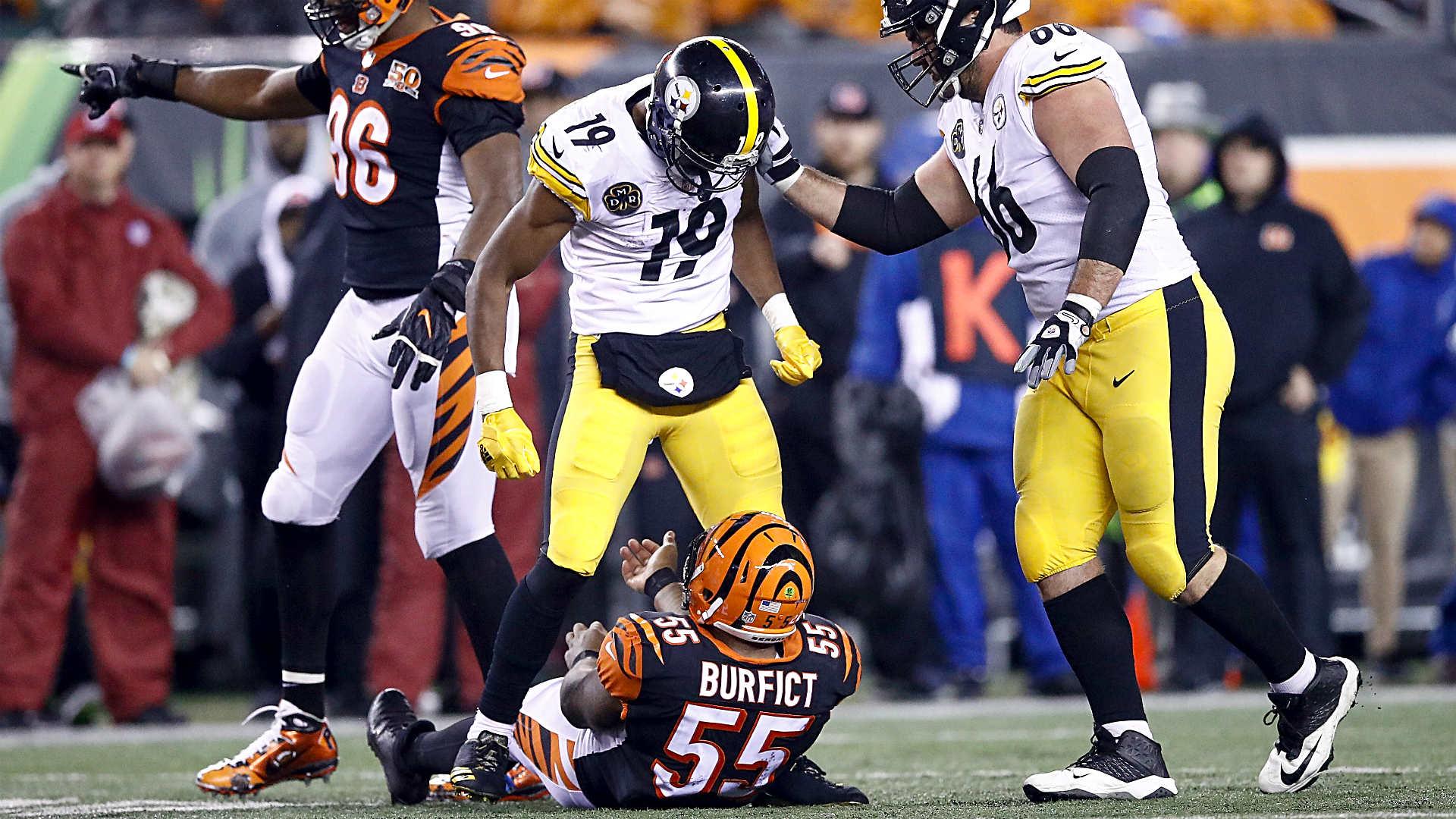 Steelers-Bengals turns into NFL's biggest Monday nightmare