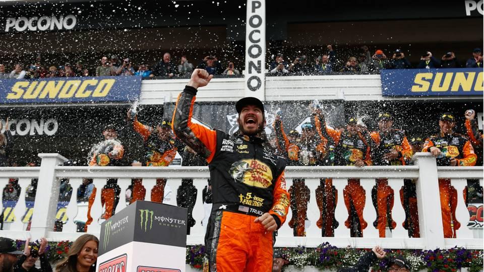 NASCAR at Pocono: Outcomes, highlights from Martin Truex Jr.'s Pocono 400 victory