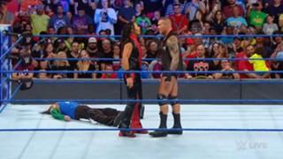 WWE スマックダウン #989 US王座 中邑 オートン ジェフ
