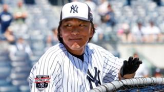 松井秀喜 ヤンキース ジャンカルロ・スタントン
