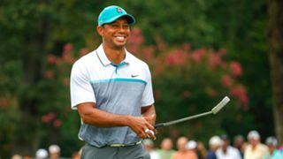 Tiger Woods at the Wyndham Championship