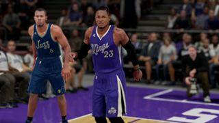 NBA 2K16 Christmas Kings Jazz