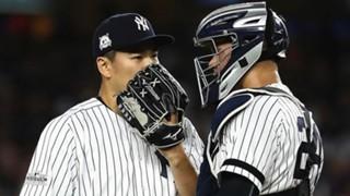 田中の好投をサポートしたヤンキースのサンチェス