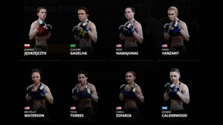 EA Sports UFC 2 Women's Strawweight