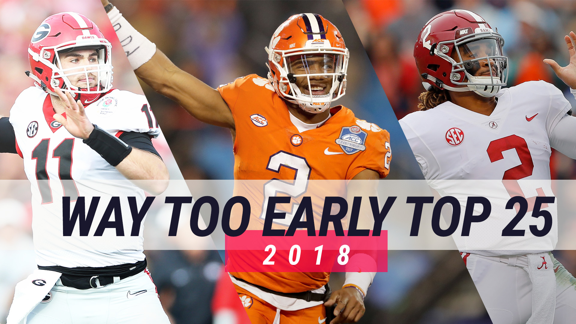 timeless design ebf07 9b215 College football top-25 season previews  What to expect from each team in  2018