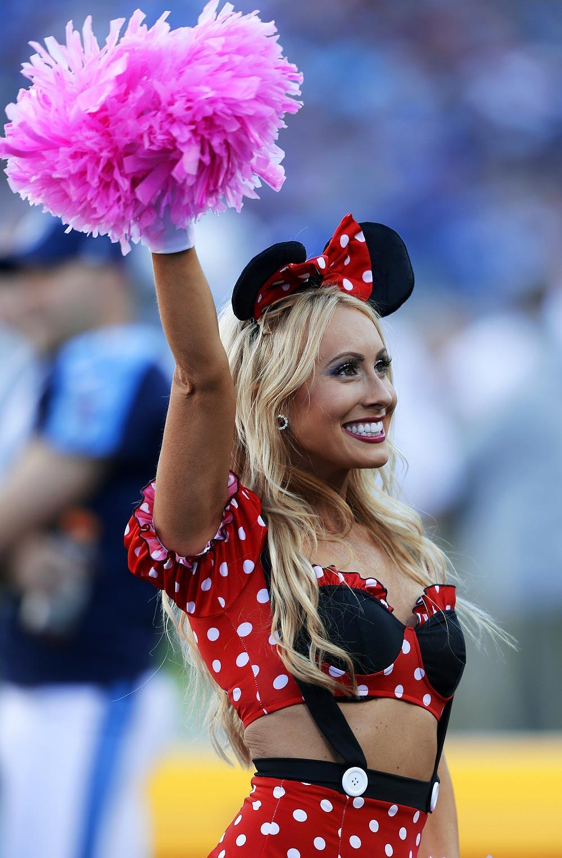 Cheerleaders in Halloween costumes | Sporting News