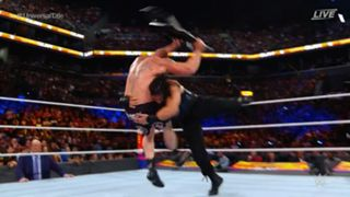 WWE サマースラム ユニバーサル王座戦 レインズ レスナー