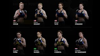 EA Sports UFC 2 Women's Bantamweight