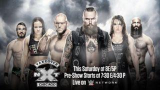 WWE NXT テイクオーバー シカゴ