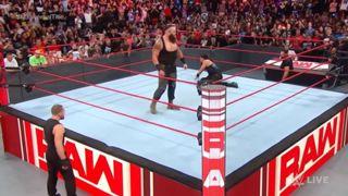 WWE ロウ #1317 ユニバーサル王座戦
