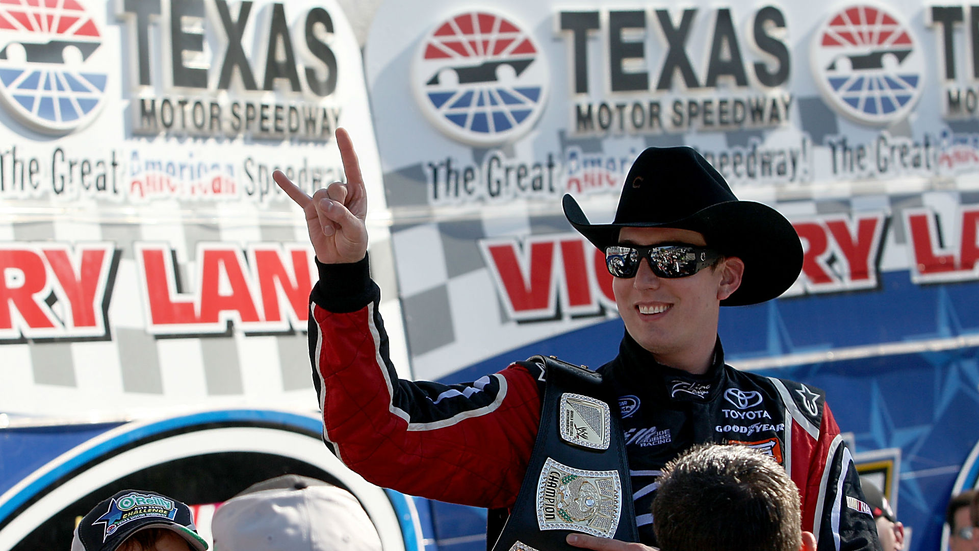 0705a707380 Which NASCAR drivers look best in a Texas cowboy hat
